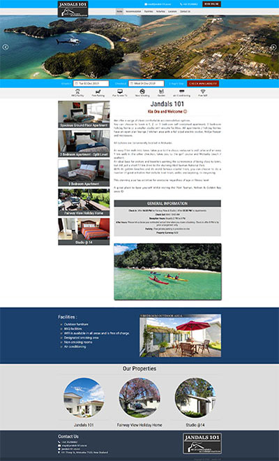 Jandals 101 Serviced Apartments