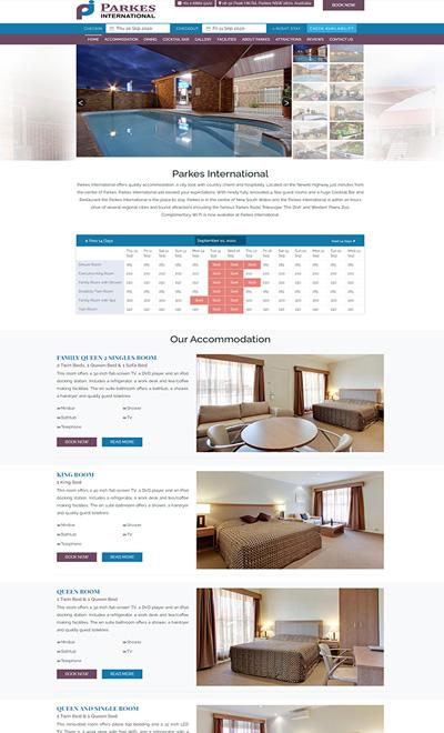 Parkes International Motel